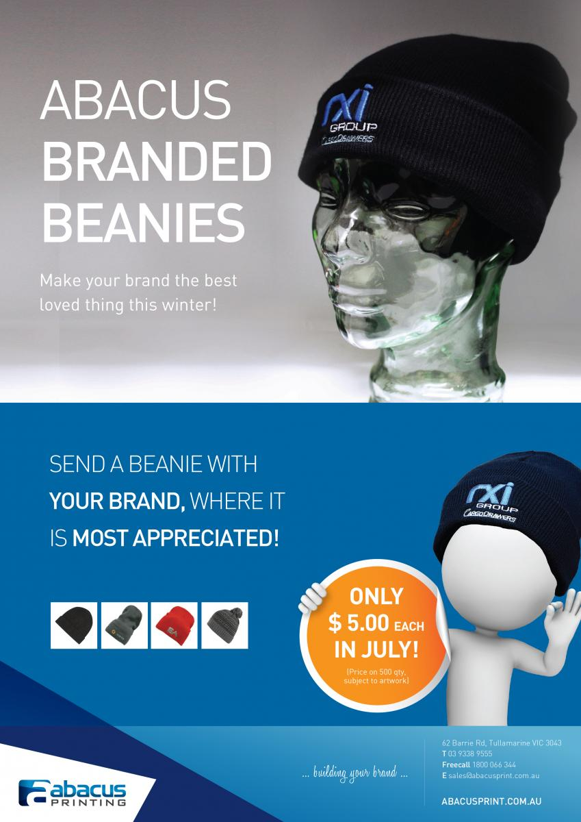 Branded Beanies from Abacus