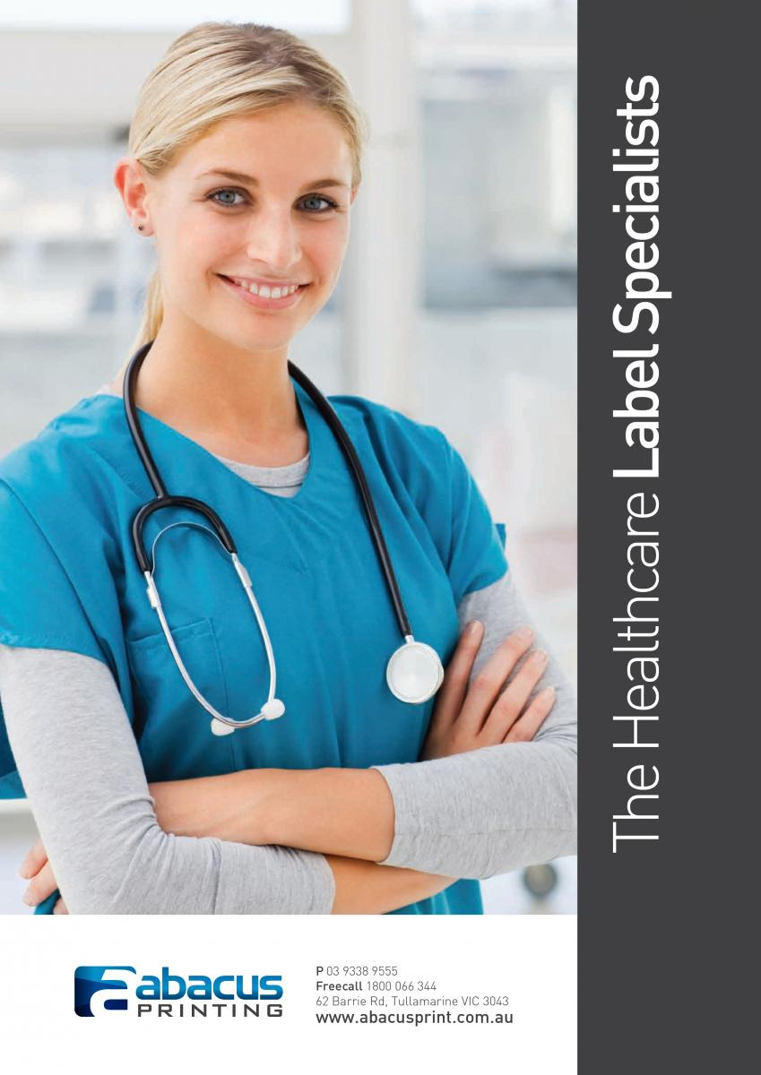Healthcare Labels