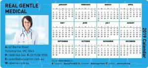 Fridge Magnet Calendar Medical