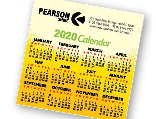Fridge Magnet Calendars