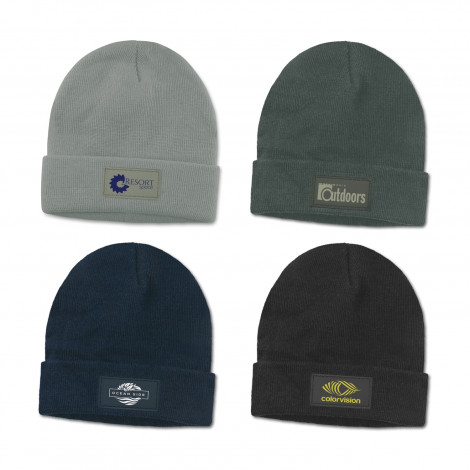 Dove Beanie with patch