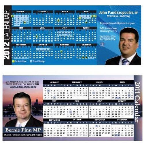 Fridge Calendar Magnets