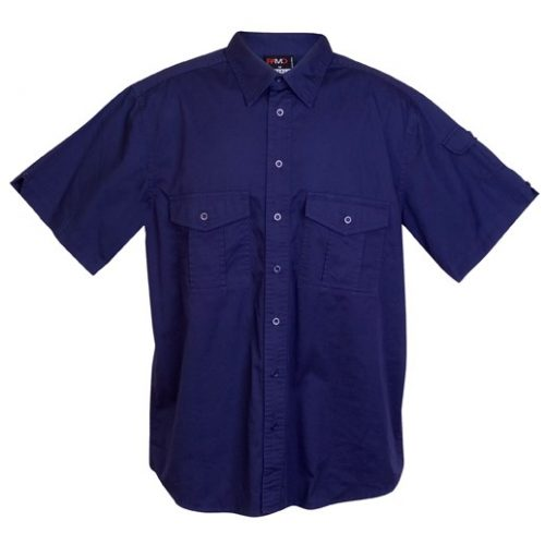Morna Drill Work Short Sleeve Shirts