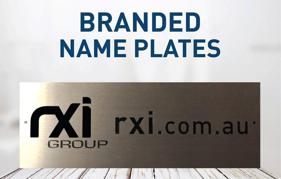 Branded Name Plates