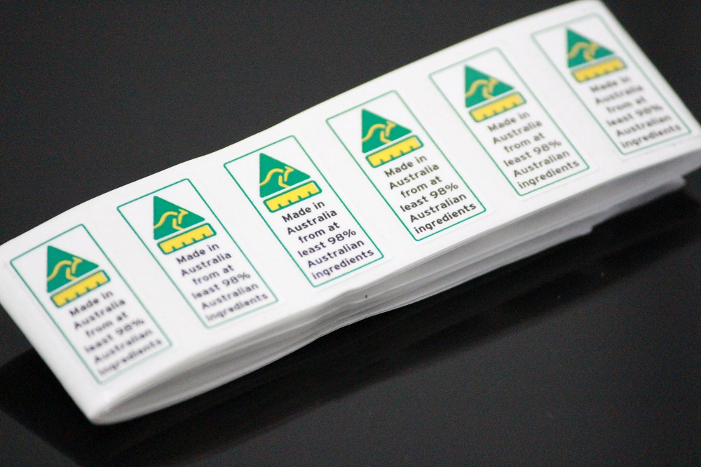 Made in Australia Labels