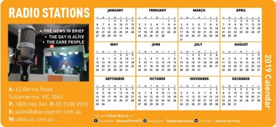 Fridge Magnet Calendar Radio Stations