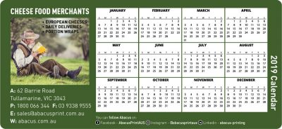 Fridge Magnet Calendar General Business