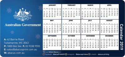 Fridge Magnet Calendar Government