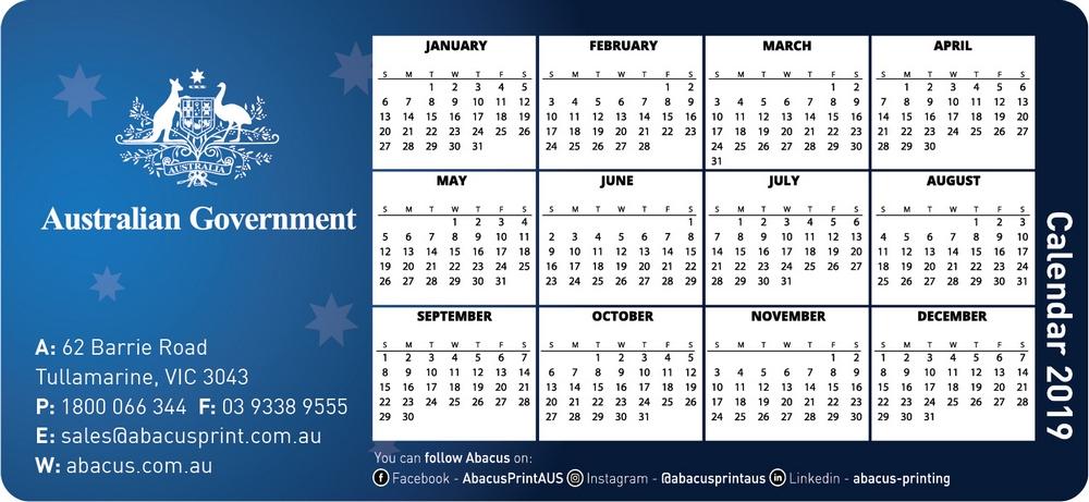 Fridge Magnet Calendar Government