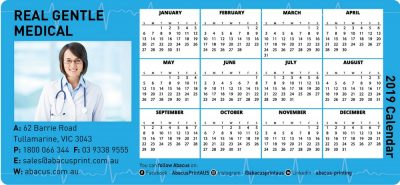 Fridge Magnet Calendar Medical