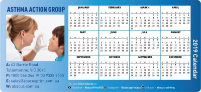 Fridge Magnet Calendar Organisations