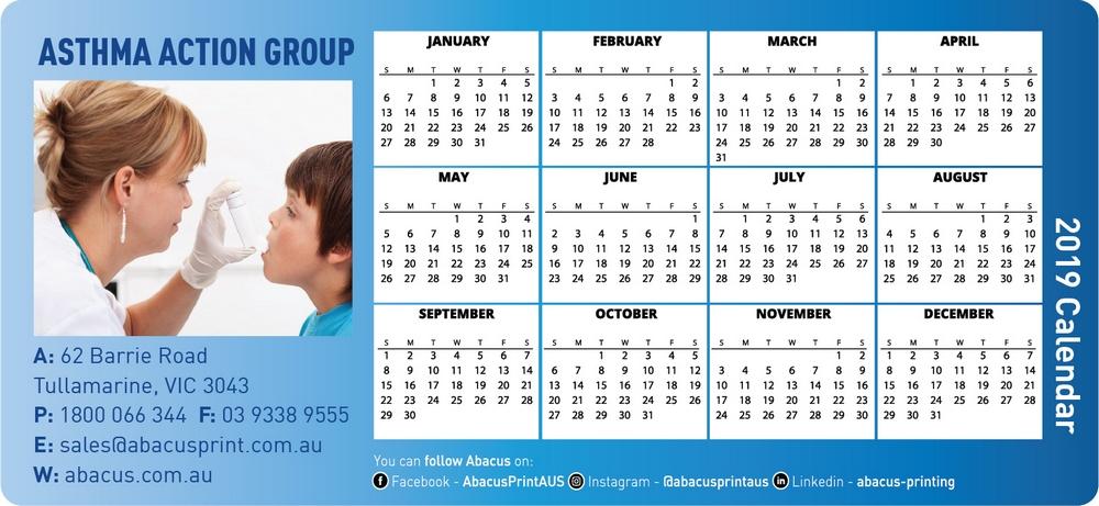 Fridge Magnet Calendar Organisations