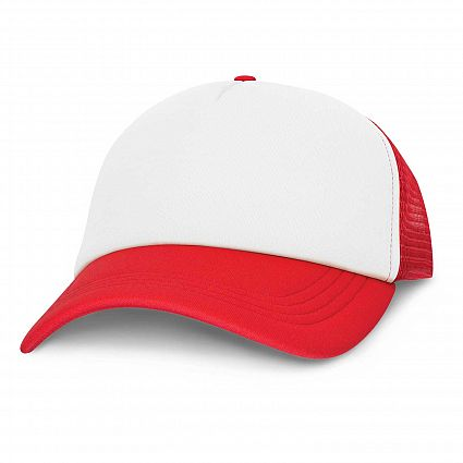 Palm Cove - Mesh White Front Cap