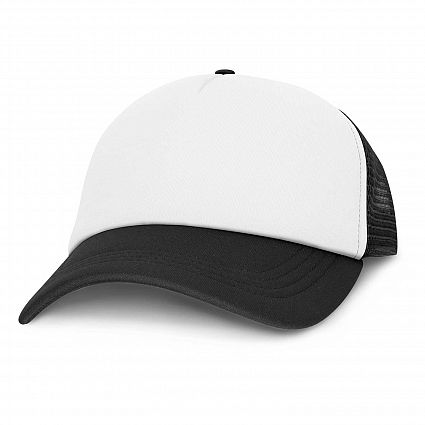 Palm Cove - Mesh White Front Cap