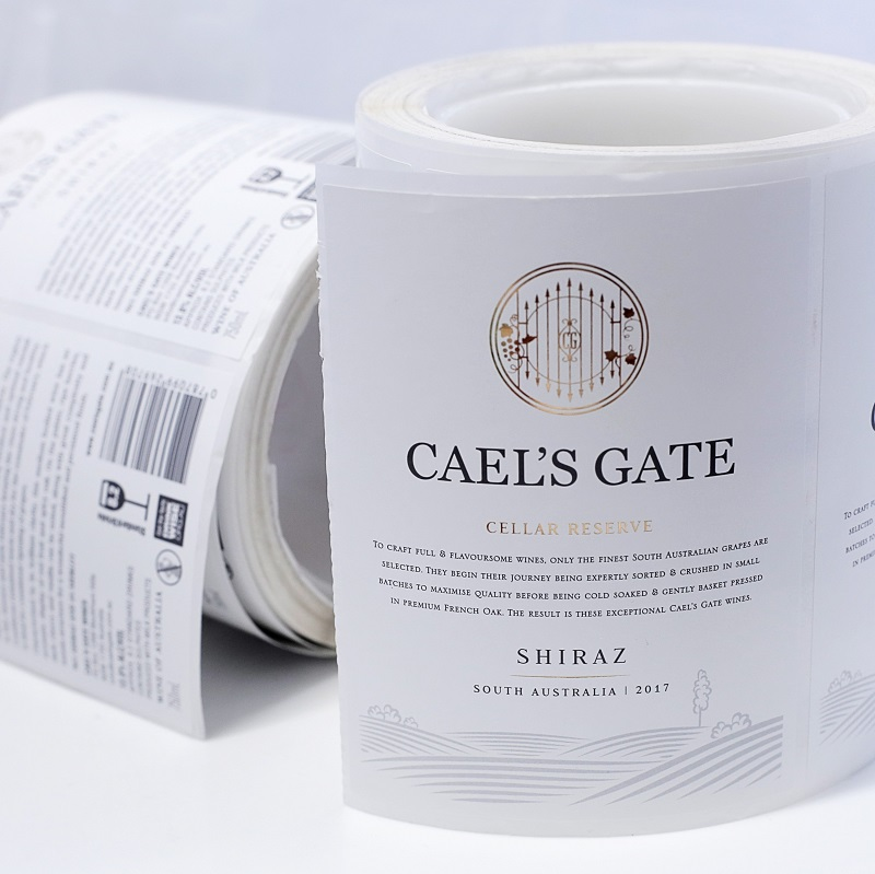 Beautiful Wine Labels for Cael's Gate