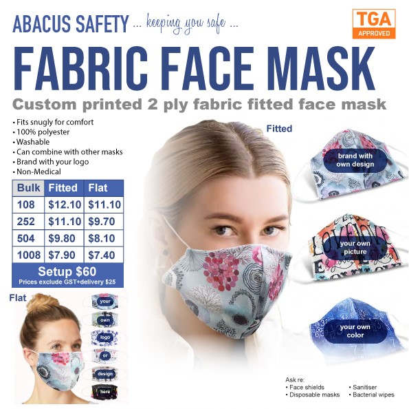 Branded Polyester Fabric-Face-Masks-Abacus