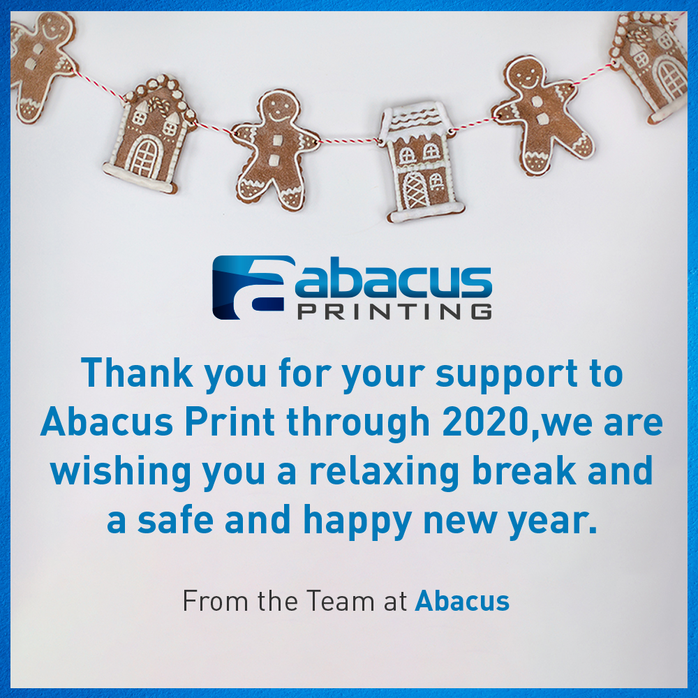 Thank you from the Team at Abacus